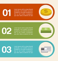 Money infographics vector