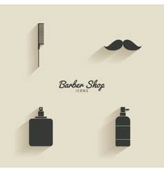 Abstract barber objects vector