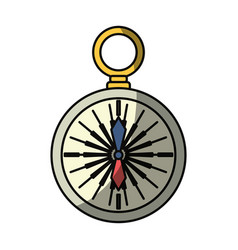 Compass background concept vector