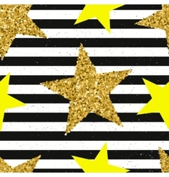 Trendy stars color seamless pattern vector image vector image