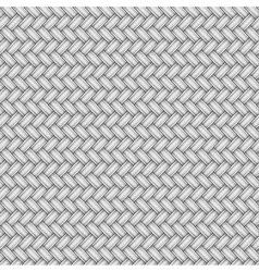 Wicker metal pattern vector