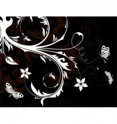 flower design vector image