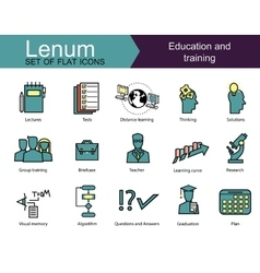 Education set vector image