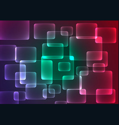 Flat color geometric rectangle background vector
