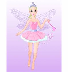 flying fairy vector image vector image