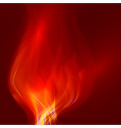 Abstract magical flame vector image