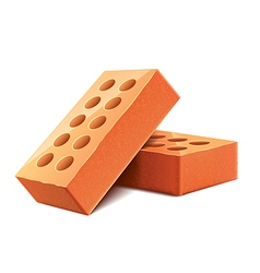 Brick isolated vector