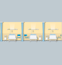 a sickroom seamless vector image vector image