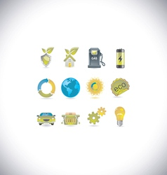 environment set vector image vector image