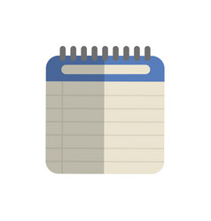 Notebook icon image vector