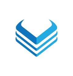 V letter logo vector