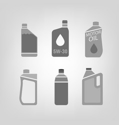 Synthetic oil icon vector