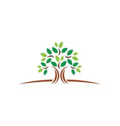 Plant green tree ecology logo vector
