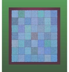 marine tiles vector image