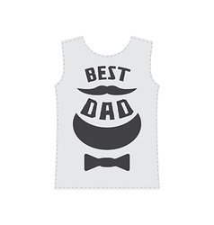 Best dad - typography or t-shirt graphics with vector