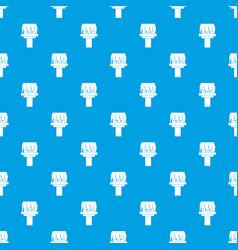 Box magic pattern seamless blue vector