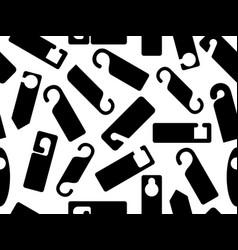 door knob hangers seamless vector image