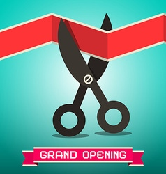 Grand Opening Retro vector image vector image