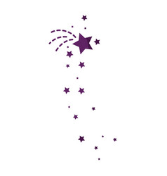 Star decorative symbol vector