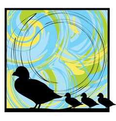 Ducks vector