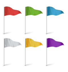 Map pointer flags  flag collection isolated vector