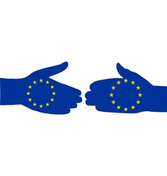 European handshake vector
