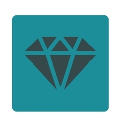 Diamond icon from commerce buttons overcolor set vector