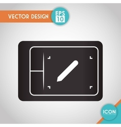 Design table icon design vector