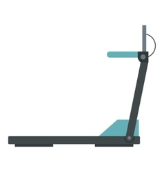 Gym equipment icon flat style vector