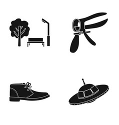 Park gynecological tool and other web icon in vector