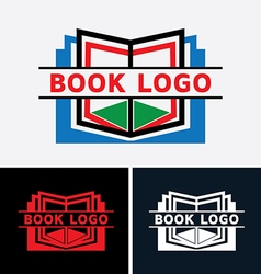 Book logo vol 2 vector