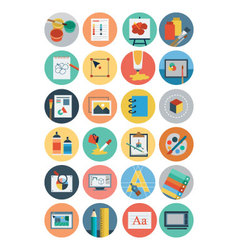 Flat design icons 6 vector