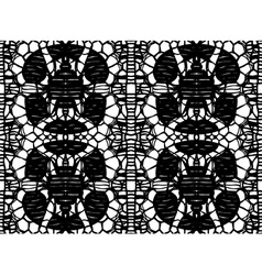 pattern lace vector image