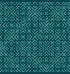 blue geometric seamless pattern vector image vector image