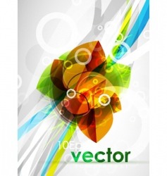 modern elements background vector image vector image