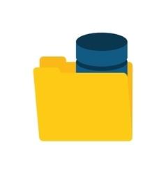 Folder data server storage vector