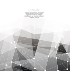 monochrome abstract background with copyspace vector image