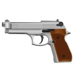 Semi-automatic gun vector