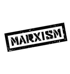 Marxism rubber stamp vector