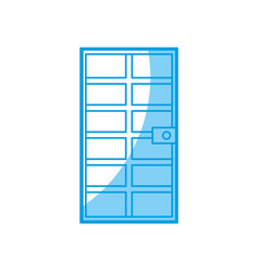 door icon image vector image