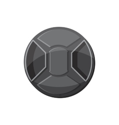 Cover on lens camera icon cartoon style vector