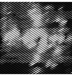 Grunge halftone striped texture background vector