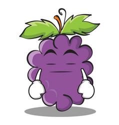 Boring grape character cartoon collection vector