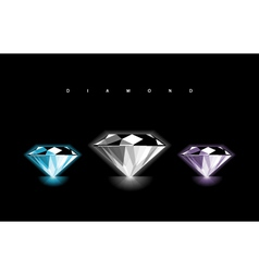 Diamond design vector