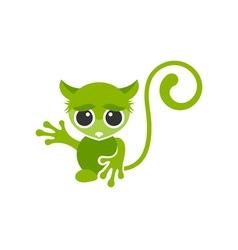 Monkey-380x400 vector image vector image