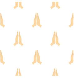 Prayer pattern seamless vector