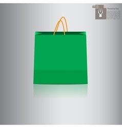 shopping bag for sale vector image