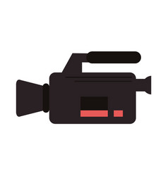 video camera icon image vector image