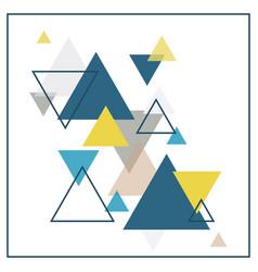 abstract scandinavian background vector image
