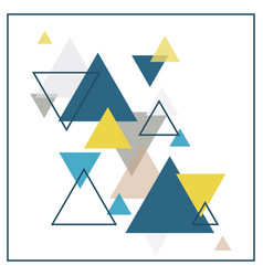 abstract scandinavian background vector image vector image